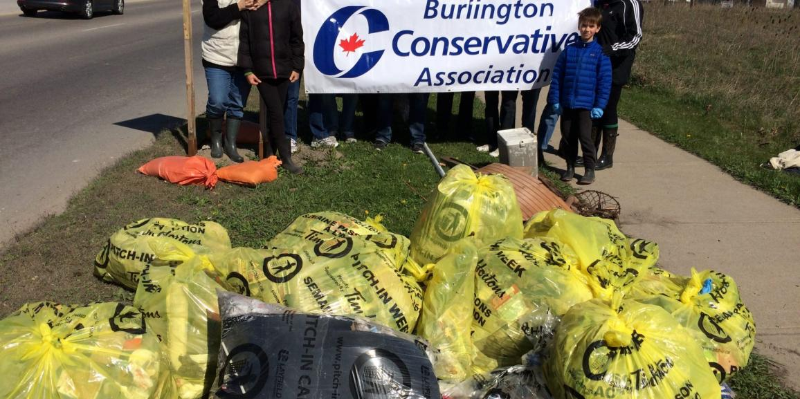 BCA's 2016 Clean Up Green Up – with the Burlington PC's!
